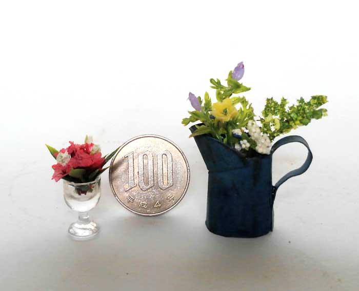 画像2: フラワー・センターピース&ジャグのお花(ネイビー)