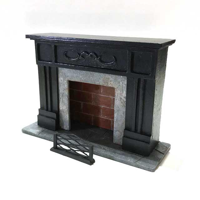 画像2: ミニチュア暖炉