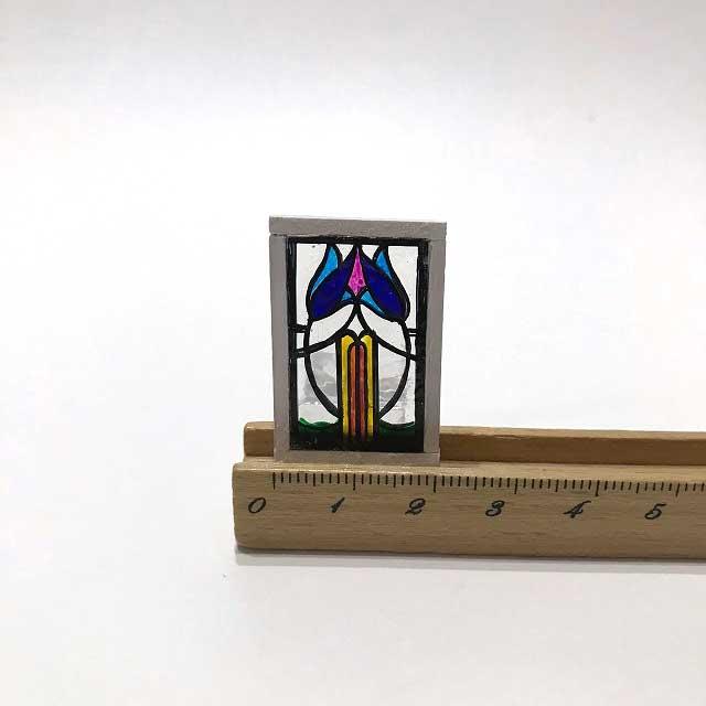画像1: ステンドグラス・チューリップ
