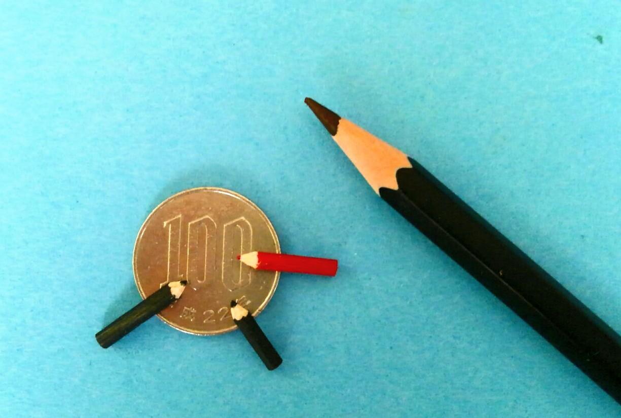 画像2: 黒と赤鉛筆・木製(3本セット)