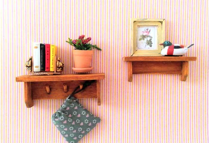 画像3: 巾着袋(グリーン&ピンクハート)