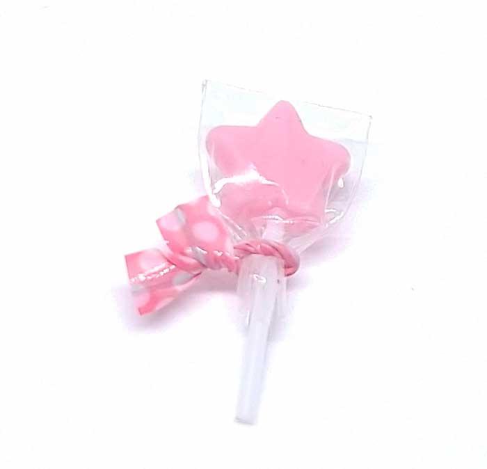画像1: 棒キャンディー星(いちごミルク)