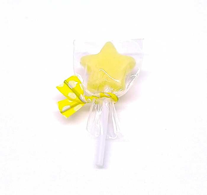 画像1: 棒キャンディー星(レモンミルク)