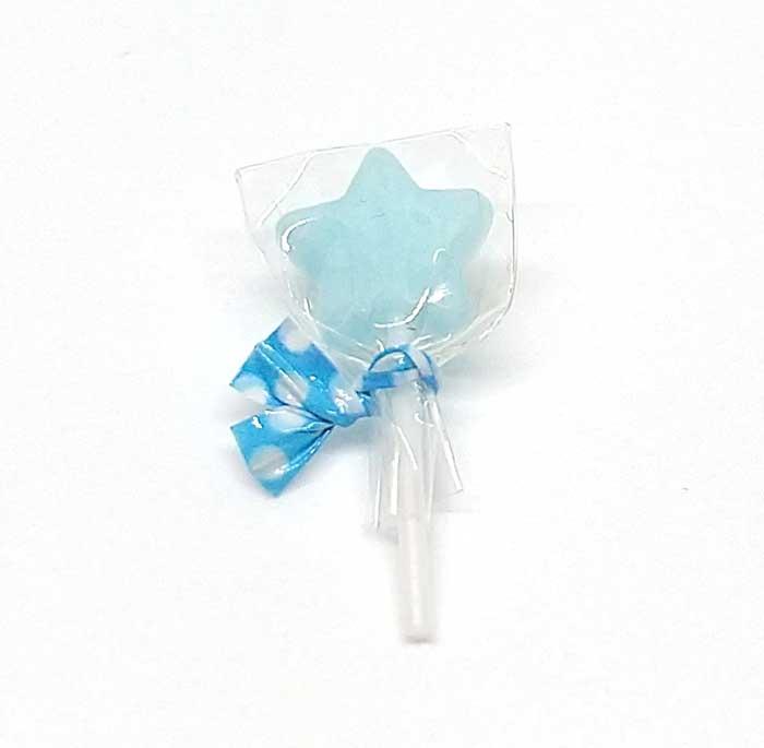 画像1: 棒キャンディー星(ソーダミルク)