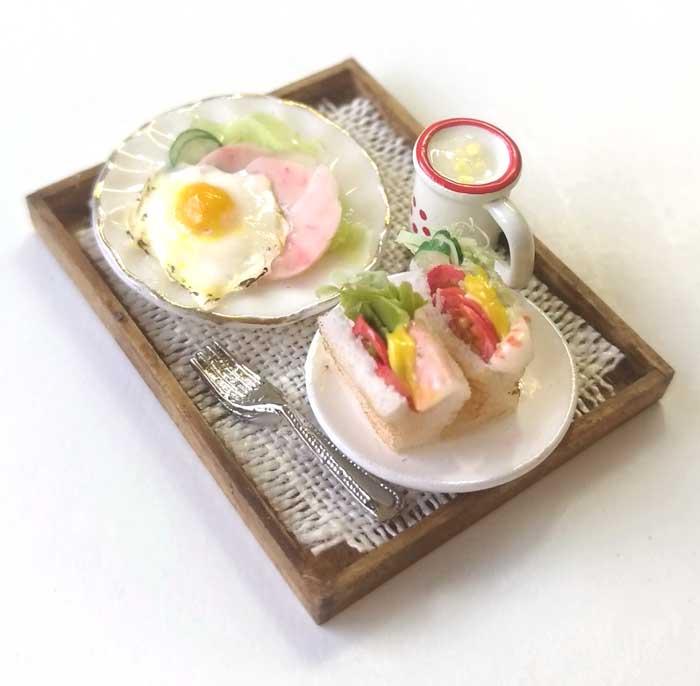 画像2: モーニングセット(サンドイッチ&サラダ&ポタージュ)