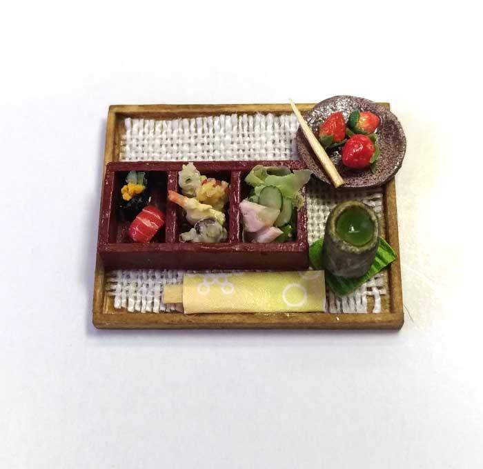 画像1: にぎり天ぷら・デザート付き