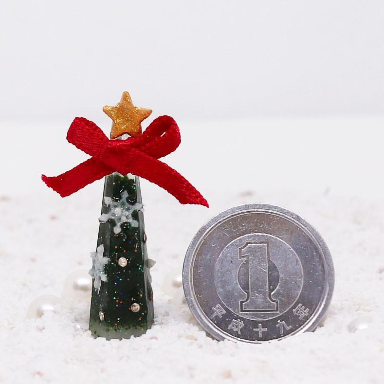 画像3: ミニミニクリスマスツリーもみの木風