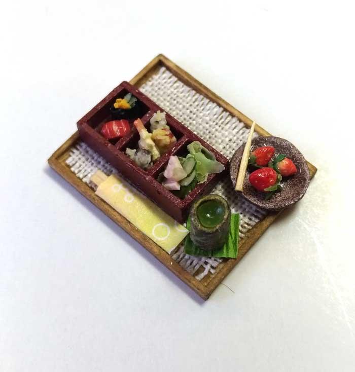 画像2: にぎり天ぷら・デザート付き