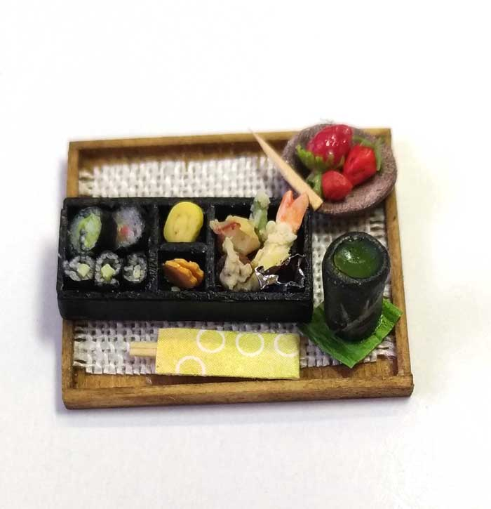 画像1: 巻き寿司天ぷら・デザート付き