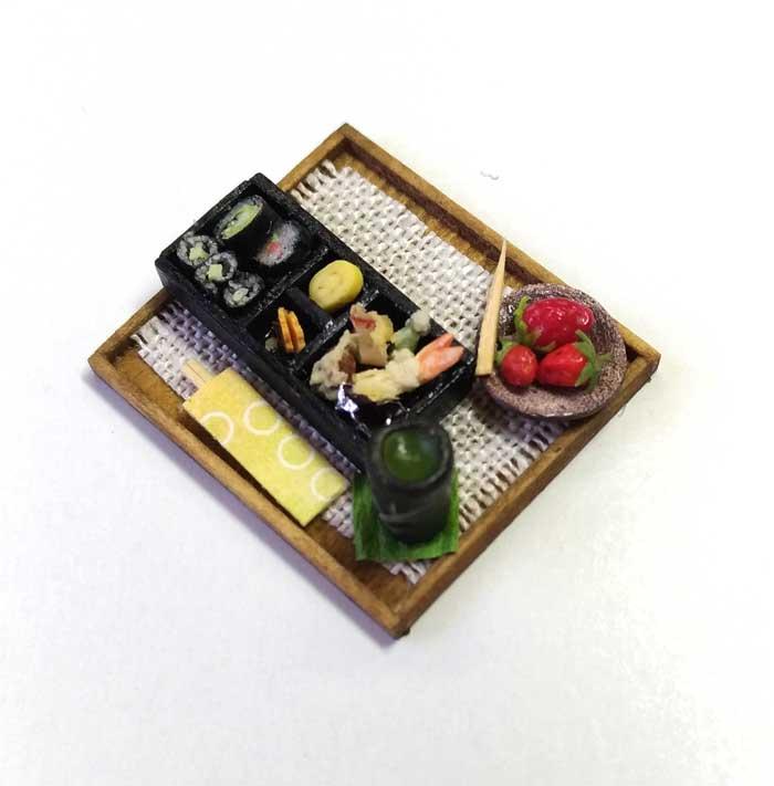 画像2: 巻き寿司天ぷら・デザート付き