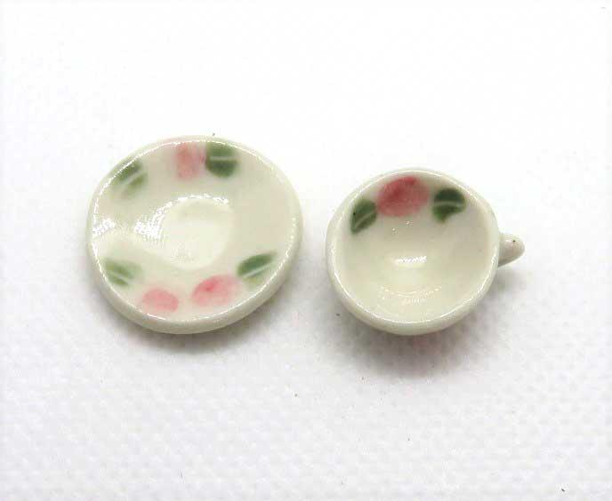 画像2: ティーカップ&ソーサー・薔薇