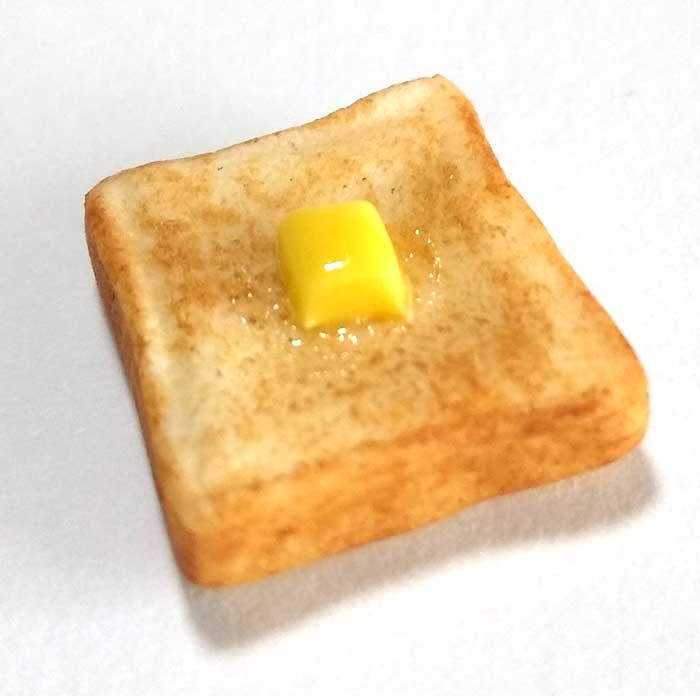 画像1: トースト(バター付き)