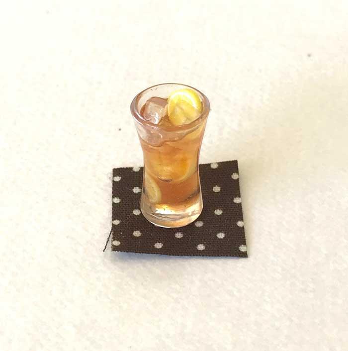 画像1: アイスレモンティー(グラス)
