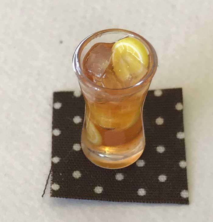 画像3: アイスレモンティー(グラス)