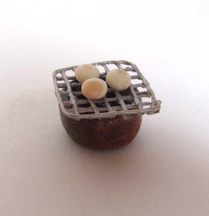 画像2: お餅と火鉢