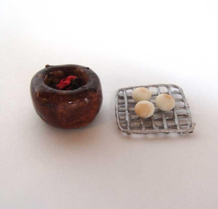 画像3: お餅と火鉢