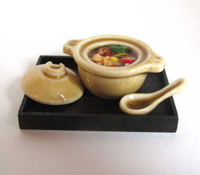 画像1: 鍋焼きうどん