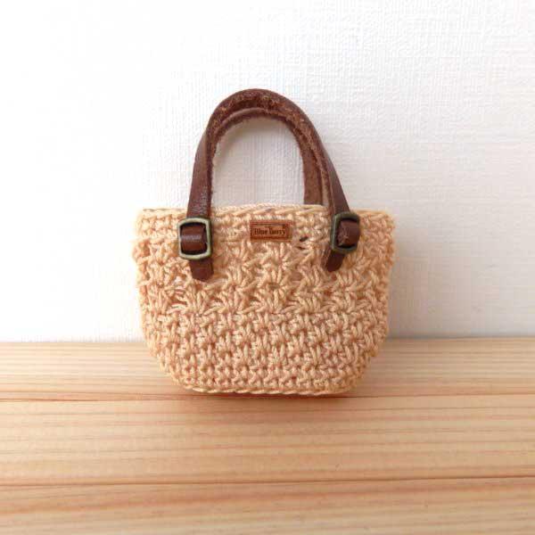 画像1: お買い物バッグ ナチュラル