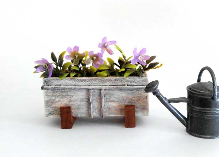 画像2: ウィンドゥボックス(すみれ色の花)