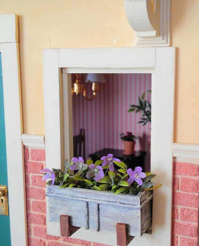 画像3: ウィンドゥボックス(すみれ色の花)