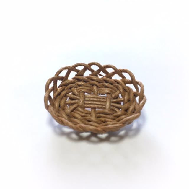 画像1: 盛り籠 楕円 マロン