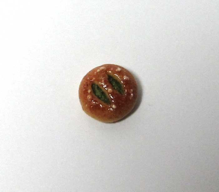 画像1: うぐいすあんパン