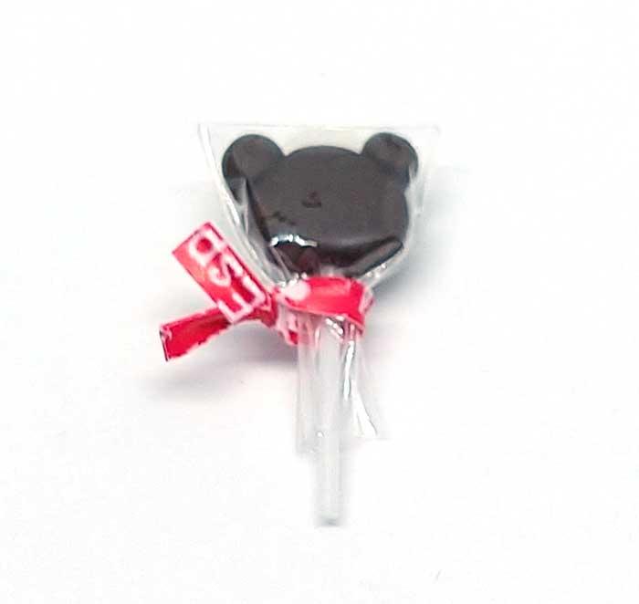 画像1: 棒キャンディーくま(チョコ)