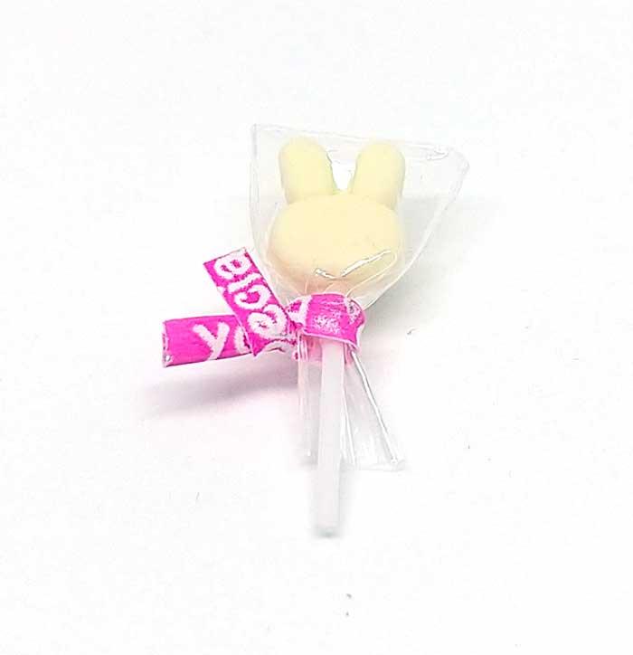 画像1: 棒キャンディーうさぎ(ミルク)