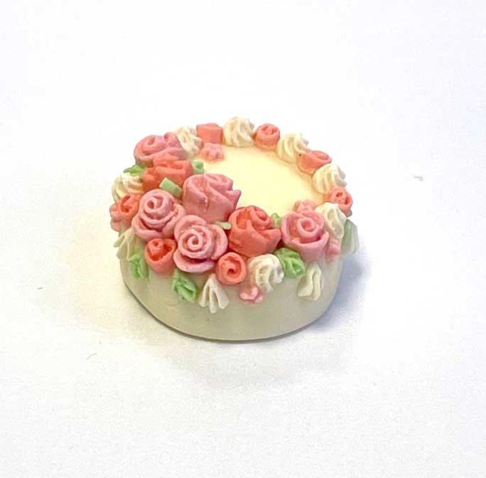 画像2: バラのデコレーションケーキ
