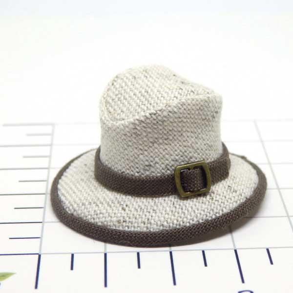 画像1: 中折れ帽子 ホワイト