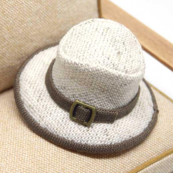 画像2: 中折れ帽子 ホワイト