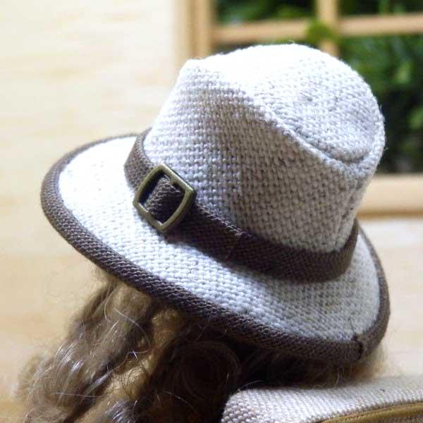 画像3: 中折れ帽子 ホワイト