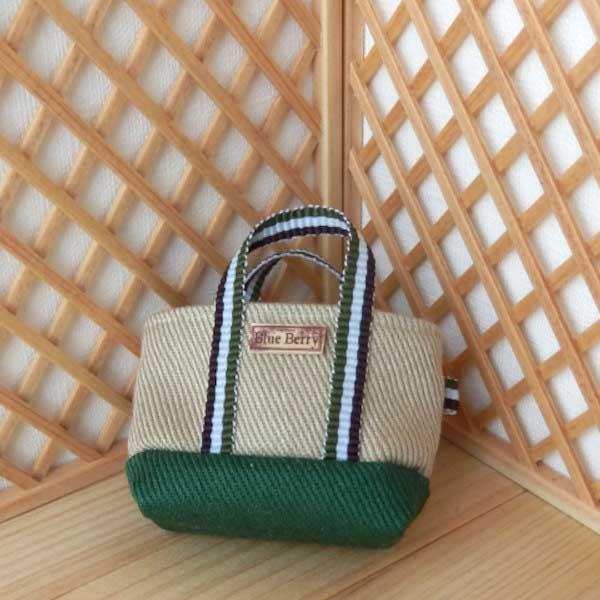 画像2: トートバッグ 緑