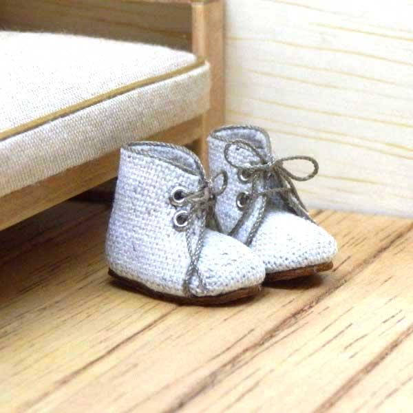 画像2: ショートブーツ ホワイト