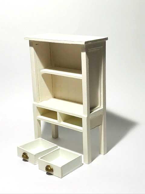 画像2: 引き出し付き飾り棚