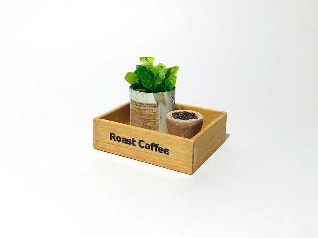 画像1: ウッドボックス・植物