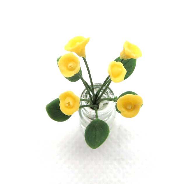 画像2: 黄小花(ガラス瓶入り)