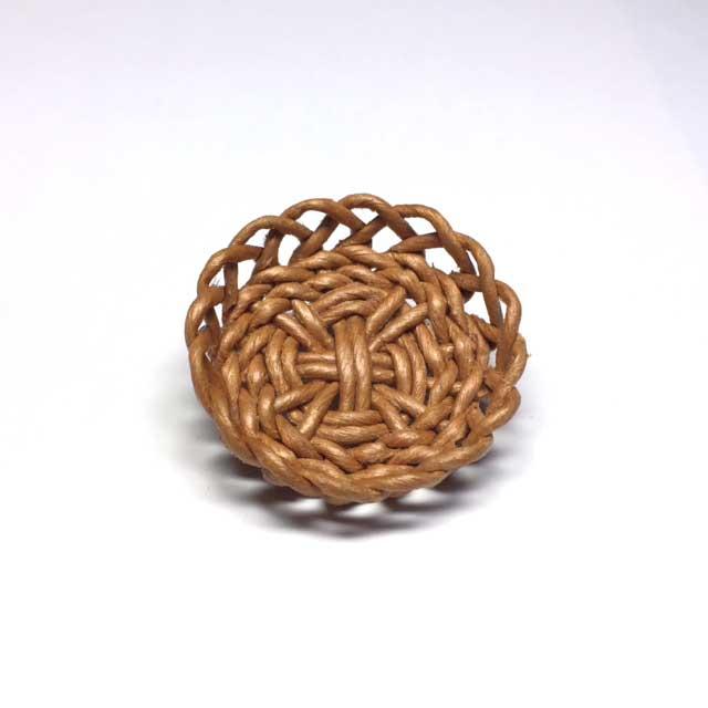 画像1: 盛り籠 円形 キャラメル