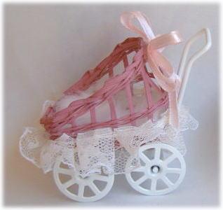 画像1: 乳母車ピンク(2)