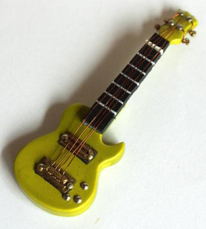画像1: エレキギター・グリーン