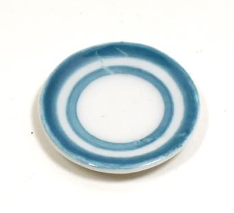 画像1: ブルーライン皿