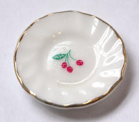 画像1: チェリーお皿1枚