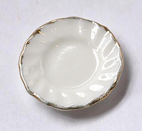画像1: 白金縁お皿