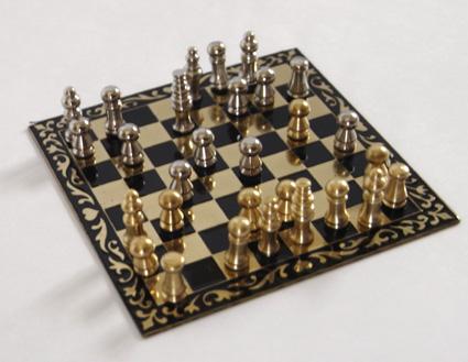 画像1: チェス・金属盤