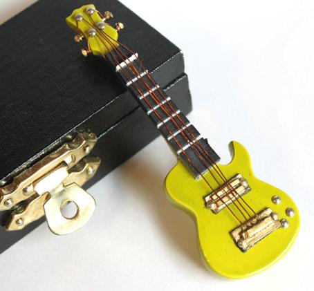 画像2: エレキギター・グリーン