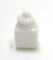 画像2: 白陶器ミニキャニスター4個セット