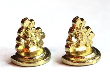 画像3: ゴールドミニブックエンドセット