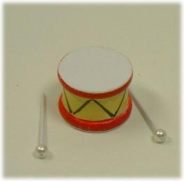 画像1: 子供用ミニ太鼓
