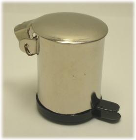画像1: ダスト缶・シルバー