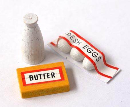 画像1: 牛乳・卵・バター